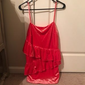 ASOS velvet cocktail dress NWT